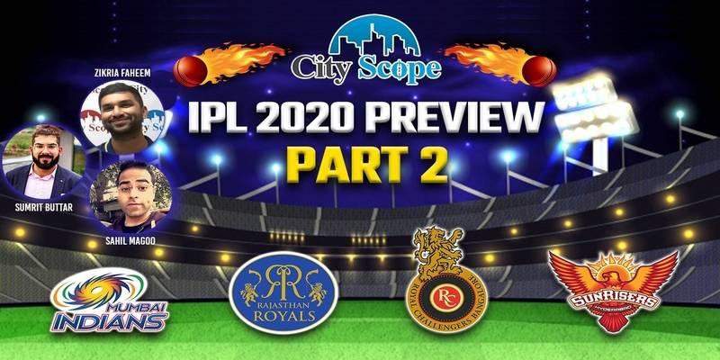 City Scope Studio: IPL 2020 Preview 2
