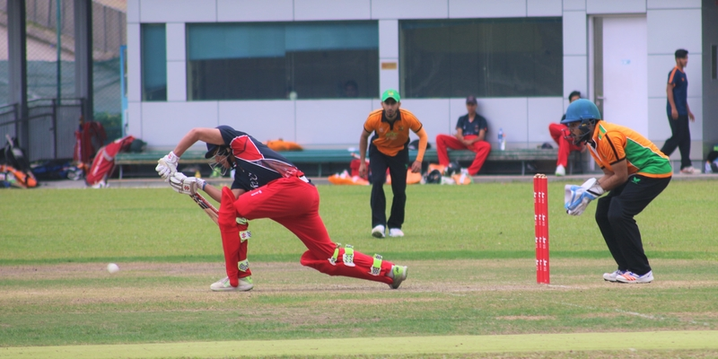 The current structure of domestic cricket in Hong Kong